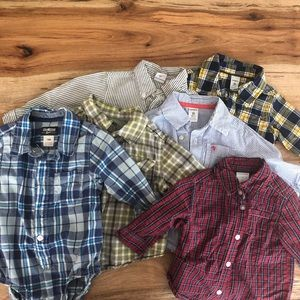 Other - 18 month long sleeve button down lot
